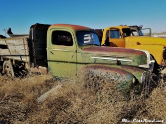 1947 Ford Truck, Side View