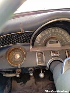 1955 Pontiac Chieftain Dash
