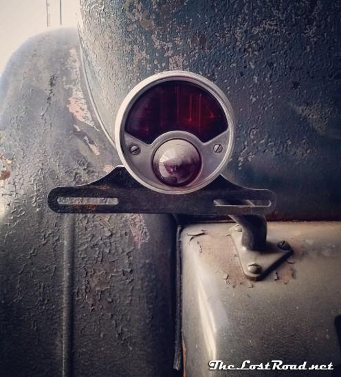 1930 Franklin Aviator taillight