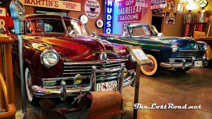 Hudsons at Frontier Auto Museum