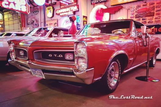 1966 Pontiac GTO at Spomer Classics