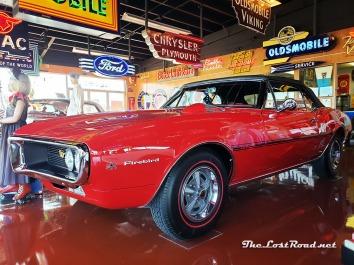 1967 Pontiac Firebird HO at Spomer Classics