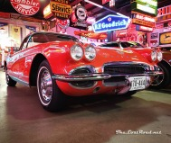 An early 1960s Chevy Corvette at Spomer Classics